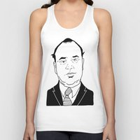 scarface Tank Tops featuring Al 'Scarface' Capone by Danny Abbott