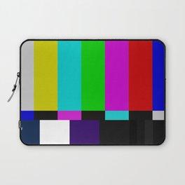TV bars color testTV bars color test Laptop Sleeve