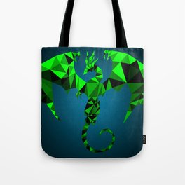Geometric Dragon Tote Bag