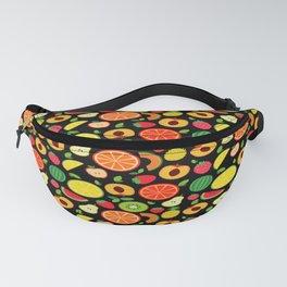 Organic Fruit Pattern Fanny Pack