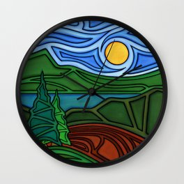 Welcome the Day Wall Clock