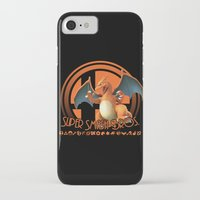 smash bros iPhone & iPod Cases featuring Charizard - Super Smash Bros. by Donkey Inferno