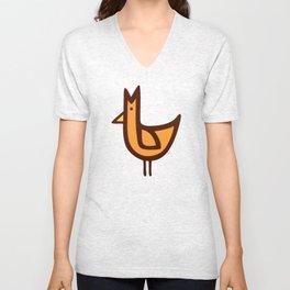 Chicken Print Unisex V-Neck