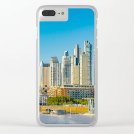Puerto Madero, Buenos Aires Clear iPhone Case