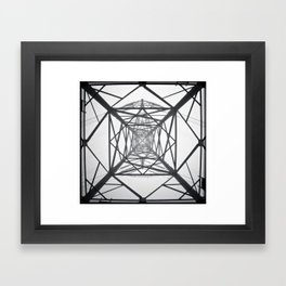 Electricity Framed Art Print