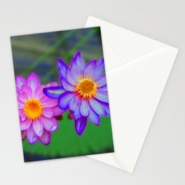 Water Lilies at Kew Stationery Cards