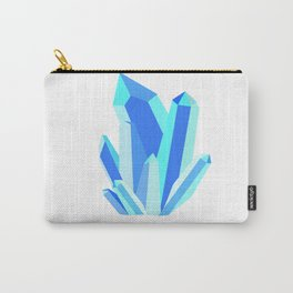 Blue Crystals Carry-All Pouch