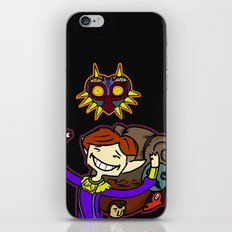 Happy Mask Salesman iPhone & iPod Skin