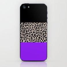 Leopard National Flag IX iPhone & iPod Skin