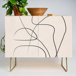 Abstract Line I Credenza