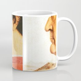 Art Remix of Piero della Francesca Coffee Mug