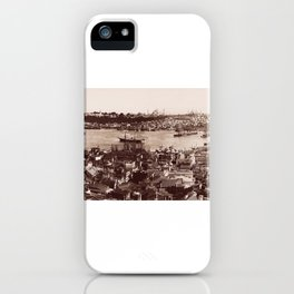 The Port from the Galata Tower iPhone Case