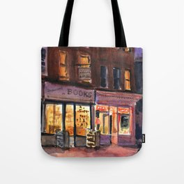 Books and Cupcakes Tote Bag