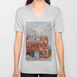 First Snow Unisex V-Neck