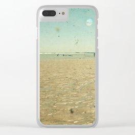 Beach Days Clear iPhone Case