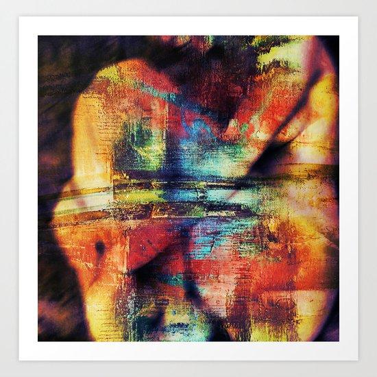 Alizée dream Art Print