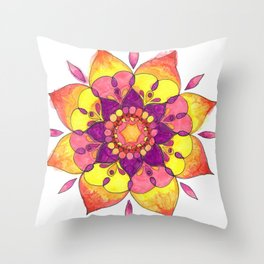 Berry blasted Throw Pillow