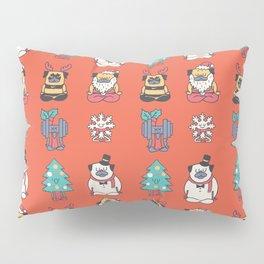 Merry Pugsgym Meditation Pillow Sham