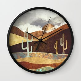 Patina Desert Wall Clock
