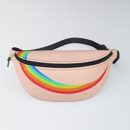Rainbow Pride LGBTQ+ Pastel Moon Fanny Pack