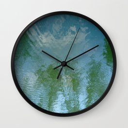Water 2 Wall Clock