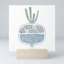Turnip Mini Art Print