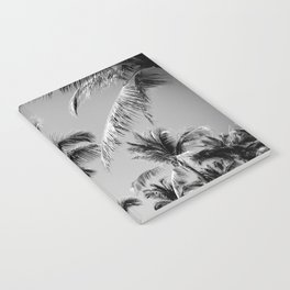 Black Palm Trees Notebook