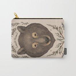 The Bear and Cedar Carry-All Pouch