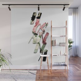H O S A N N A  |  Vintage Floral Type Wall Mural