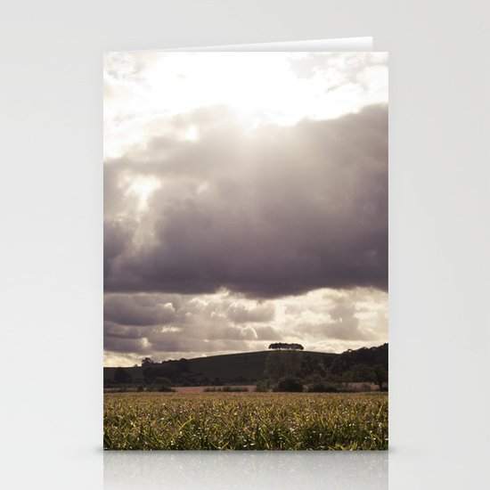 shine forth upon our clouded hills... Stationery Cards