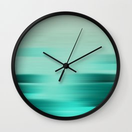 """Abstract Ocean Porstroke (Pattern)"" Wall Clock"