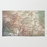 atlas Area & Throw Rugs featuring atlas - indo by strentse