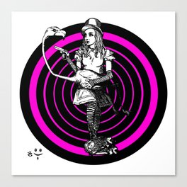 Alice Targeted Canvas Print