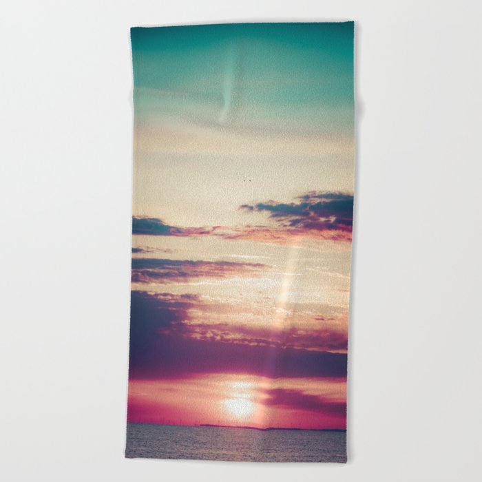 Count To 10 Beach Towel