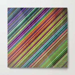 Stripes II Metal Print