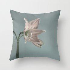 Amaryllis II Throw Pillow