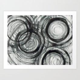 Circular Reasoning  Art Print