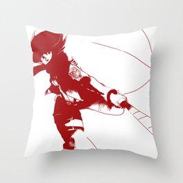 Mikasa Ackerman Throw Pillow