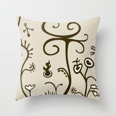 Agriculture under the influence Throw Pillow