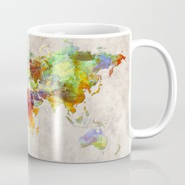 World Map 62 Coffee Mug