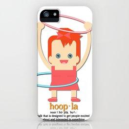 Hoopla Hula Hoop Ginger iPhone Case