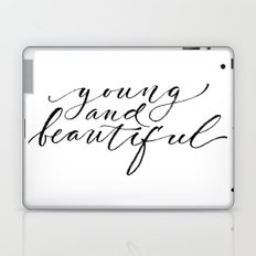 Young and beautiful Laptop & iPad Skin