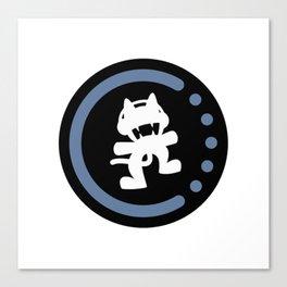 MonsterCat logo  Canvas Print