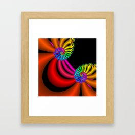 life is colorful -6- Framed Art Print
