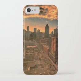Montreal Skyline iPhone Case