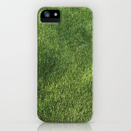 Grass on a Sunny Day iPhone Case