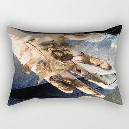 dead denim Rectangular Pillow