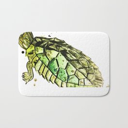 False Map Turtle Bath Mat