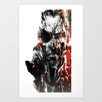 metal gear solid Art Prints featuring Metal Gear Solid V by Hisham Al Riyami