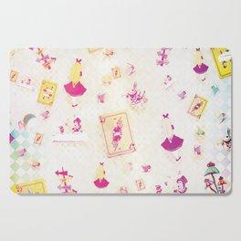 Whimsical Alice Cutting Board
